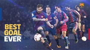 برترین گلهای تاریخ بارسلونا به انتخاب هواداران