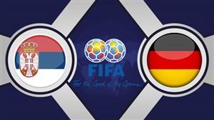 خلاصه بازی آلمان 1 - صربستان 1