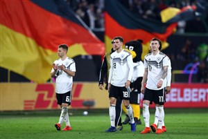 توقف آلمان در دیدار دوستانه مقابل صربستان