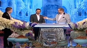 شوخی مهرداد میناوند با ازدواج جواد کاظمیان