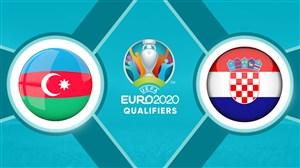 خلاصه بازی کرواسی 2 - آذربایجان 1