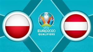 خلاصه بازی اتریش 0 - لهستان 1