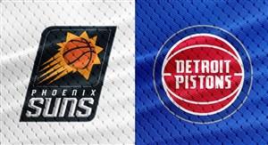 خلاصه بسکتبال دیترویت پیستونز - فونیکس سانز