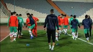 آخرین تمرین تیم ملی امید پیش از بازی برابر ترکمنستان