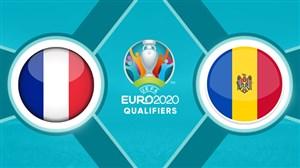 خلاصه بازی مولداوی 1 - فرانسه 4