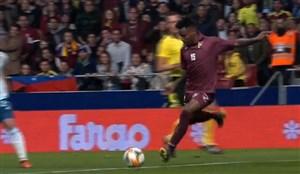 شوت دیدنی موریلو؛ گل دوم ونزوئلا به آرژانتین