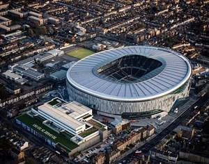 تایم لپس زیبا از مراحل ساخت ورزشگاه جدید تاتنهام