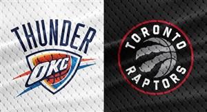 خلاصه بسکتبال تورنتو رپترز - اوکلاهاما سیتی تاندر