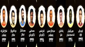 معرفی کاندیدای برترین مدافع میانی لیگ برتر در سال 97