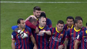 درچنینروزی؛ دیدار خاطرهانگیز رئالمادرید 3 - بارسلونا 4 (14-2013)