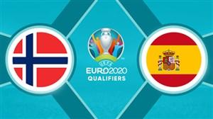 خلاصه بازی اسپانیا 2 - نروژ 1