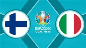 خلاصه بازی ایتالیا 2 - فنلاند 0