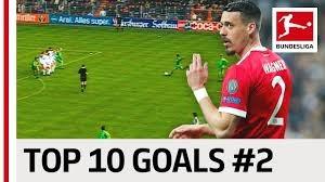 10 گل برتر بازیکنان بوندسلیگا با پیراهن شماره 2