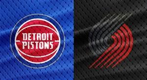 خلاصه بسکتبال پورتلند بلیزرز - دیترویت پیستونز