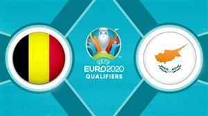 خلاصه بازی قبرس 0 - بلژیک 2