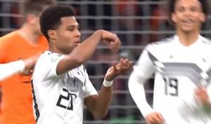 شوت دیدنی گرنابری ؛ گل دوم آلمان به هلند