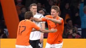 گل اول هلند به آلمان توسط دی لیخت