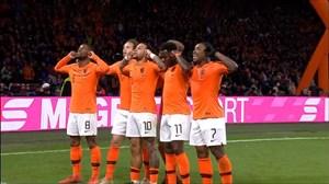 گل دوم هلند به آلمان توسط ممفیس دیپای