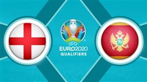 خلاصه بازی مونته نگرو 1 - انگلیس 5