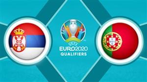 خلاصه بازی پرتغال 1 - صربستان 1