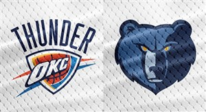 خلاصه بسکتبال ممفیس گریزلیز - اوکلاهاما سیتی تاندر