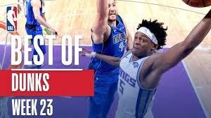 برترین اسلم دانک های هفته بیست و سوم لیگ NBA