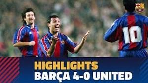 دیدار خاطرهانگیز بارسلونا 4 - منچستریونایتد 0 (فصل95-94 لیگقهرمانان)