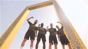حواشی اردوی آرسنالی ها در امارات