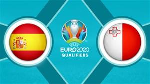 خلاصه بازی مالت 0 - اسپانیا 2 (دبلموراتا)