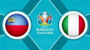خلاصه بازی ایتالیا 6 - لیختناشتاین 0  (درخشش کوالیارلا)