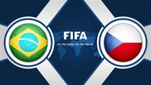 خلاصه بازی جمهوری چک 1 - برزیل 3 (دبل ژسوس)