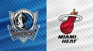 خلاصه بسکتبال میامی هیت - دالاس ماوریکس