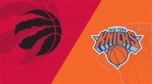 خلاصه بسکتبال تورنتو رپترز - نیویورک نیکس