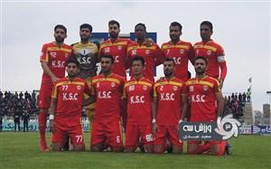 برتری تیم کادر فنی فولاد برابر رسانه ورزش خوزستان