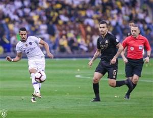 گل مارادونایی سالم الدوساری بازیکن الهلال در دربی ریاض