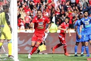 احمد نوراللهی،بهترین بازیکن شهرآورد 89