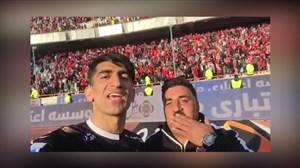 ویدیو علیرضا بیرانوند پس از پیروزی در دربی