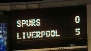 بازی خاطره انگیز لیورپول - تاتنهام در فصل 14-2013