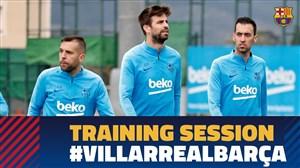 تمرین امروز تیم بارسلونا (11-01-98)