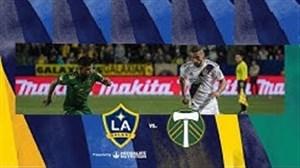خلاصه بازی لس آنجلس گلکسی 2 - پورتلند تیمبرز 1 ( دبل زلاتان )