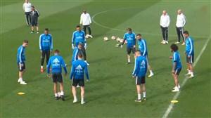 تمرین امروز تیم رئال مادرید (13-01-98)