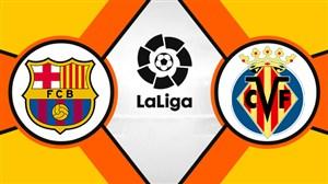 خلاصه بازی ویارئال 4 - بارسلونا 4 (گزارش اختصاصی)
