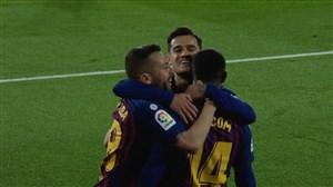 گل دوم بارسلونا به ویارئال توسط مالکوم