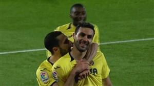گل سوم ویارئال به بارسلونا توسط ایبورا