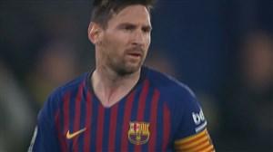 کاشته دیدنی لیونل مسی؛گل سوم بارسلونا به ویارئال