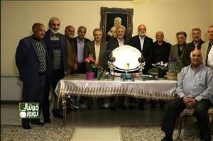 همنشینی پیشکسوتان فوتبال با محمود یاوری