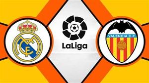 خلاصه بازی والنسیا 2 - رئال مادرید 1