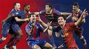 تمام گلهای باشگاه بارسلونا به منچستریونایتد در تاریخ فوتبال