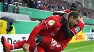 پاس گلهای برتر مرحله یک چهارم نهایی جام حذفی آلمان