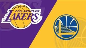 خلاصه بسکتبال گلدن استیت - لس آنجلس لیکرز